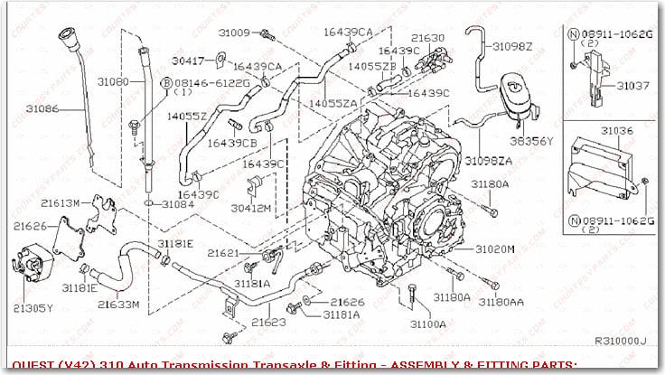 2004 Nissan Quest Engine Diagram 1991 Nissan Stanza Engine