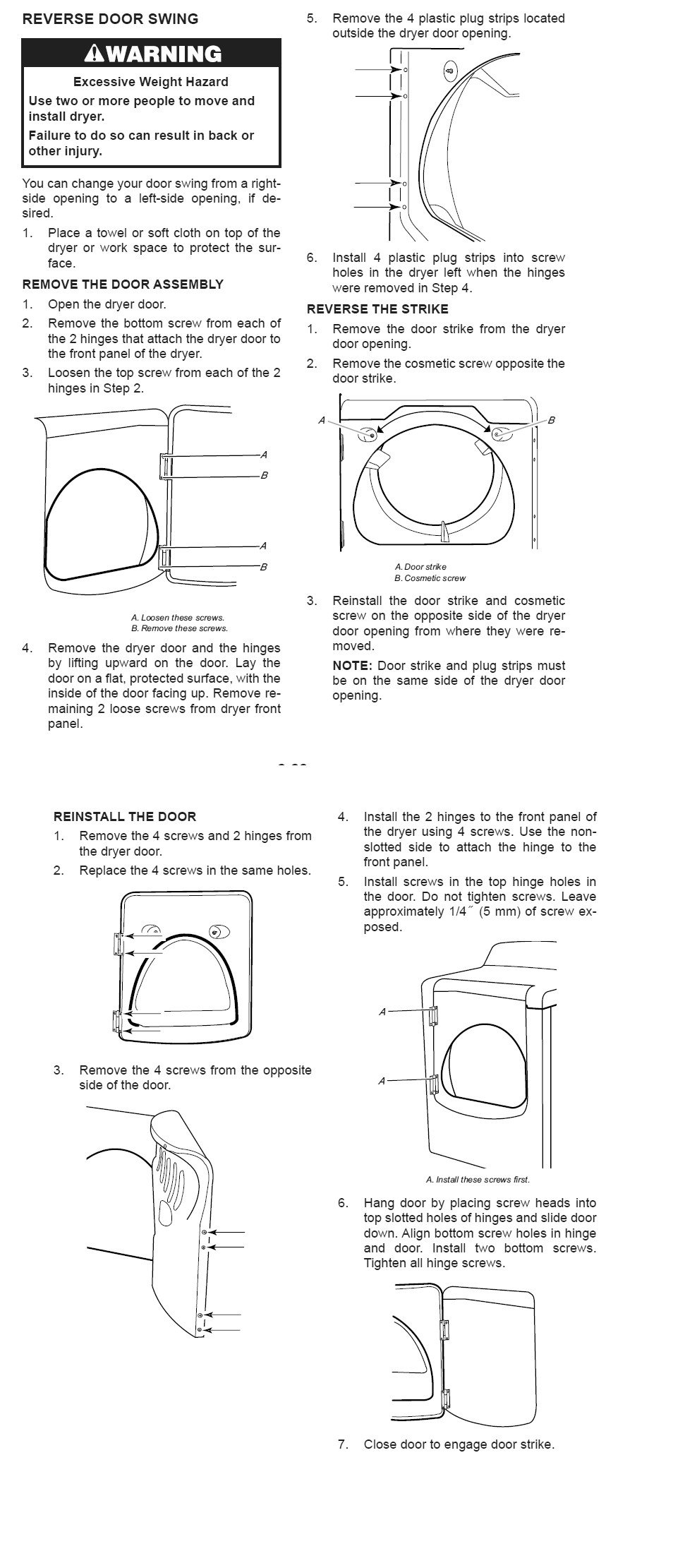 Trying To Replace The Door Latch On My Whirlpool Cabrio Dryer How Our Wed6200sw1 Is Not Working Power Graphic
