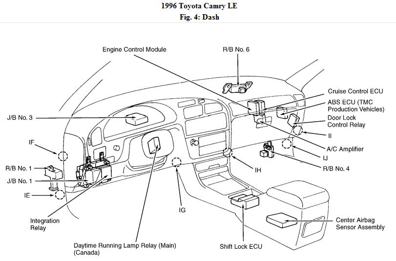 2009 09 22_123250_DashComp96CamryFig04 the power windows on my 1996 toyota camary no longet work is 1999 Corolla Engine Diagram at bakdesigns.co