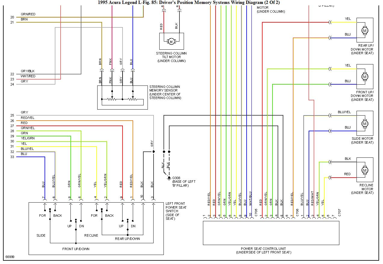 Can I Wire A 93 Acura Legend Seat To 95 1993 Wiring Diagram Graphic
