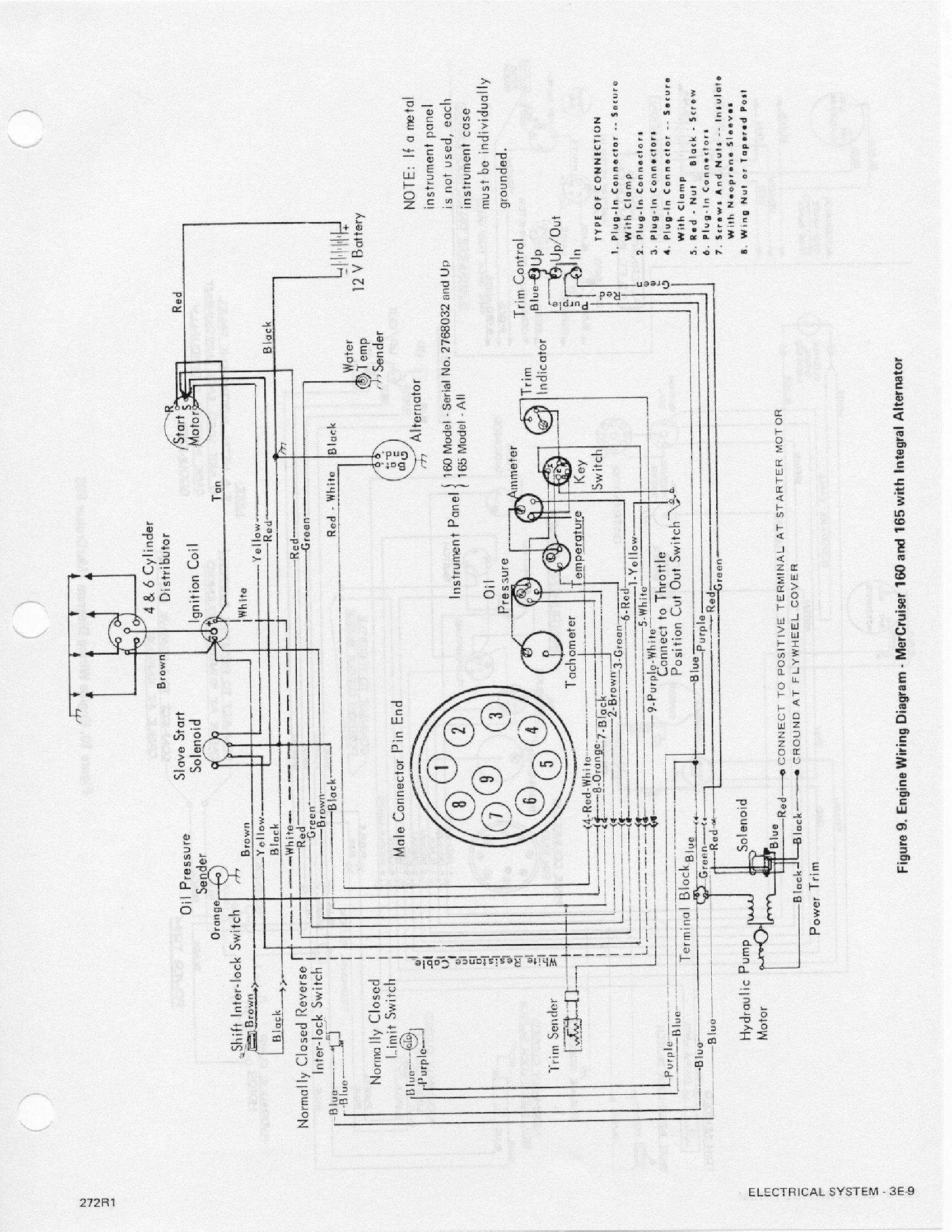 Mercruiser Electrical Diagrams Starting Know About Wiring Diagram 5425 John Deere Solenoid 160 Simple Rh David Huggett Co Uk