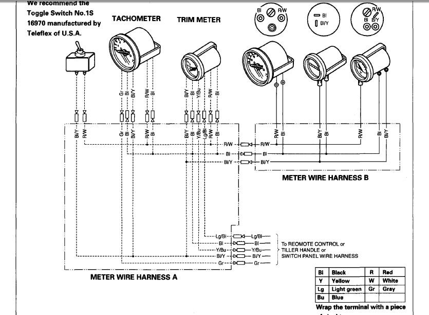 i a 2004 honda bf50 how do i install a tachometer can