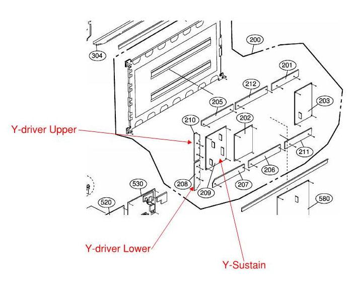 diagram of a lg tv