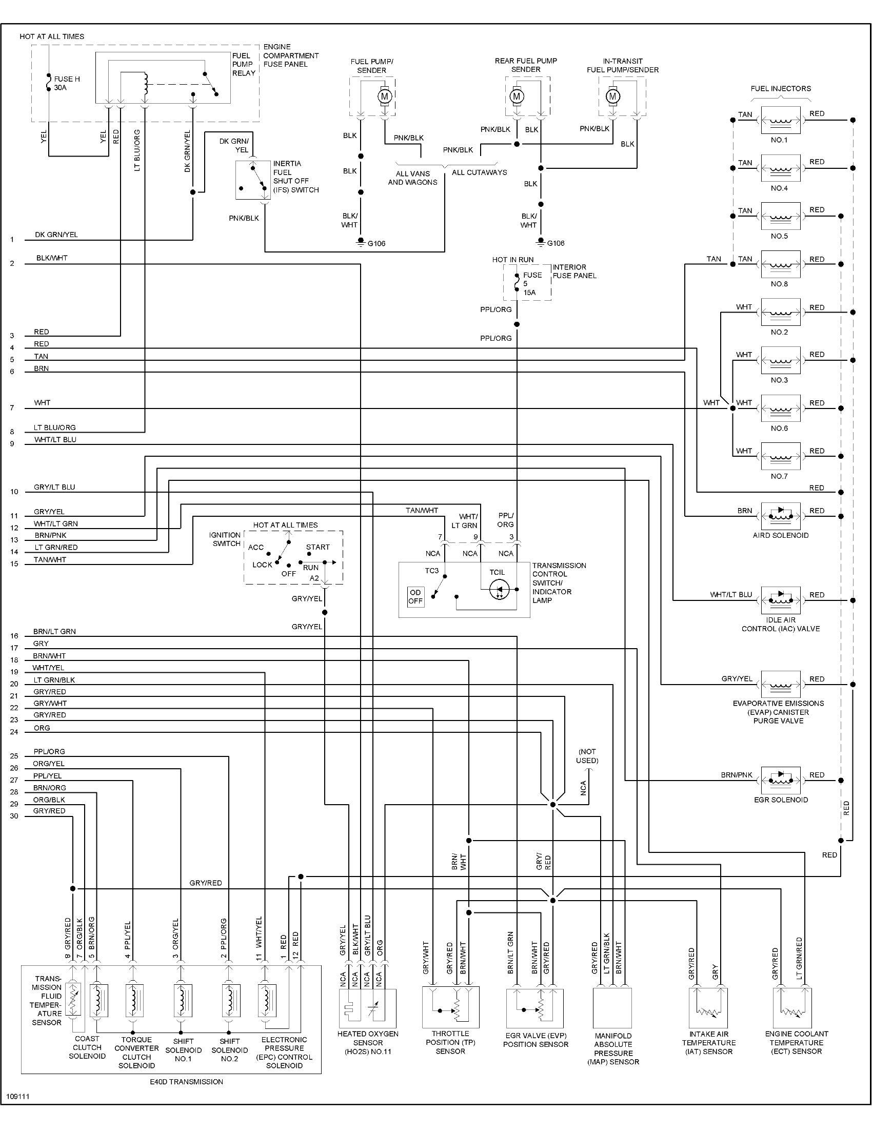 1996 Ford Econoline Wiring Diagram Diagrams 80 Bronco E 150 5 8l 000 Miles Original The Van E150