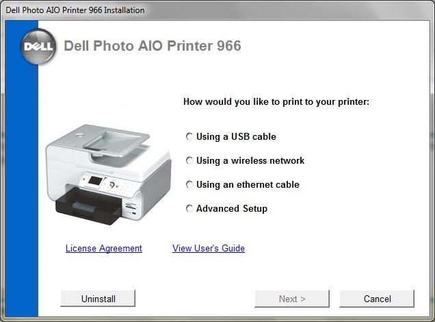 dell a940 printer software download