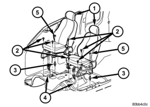 Jeep Liberty Seating Diagram