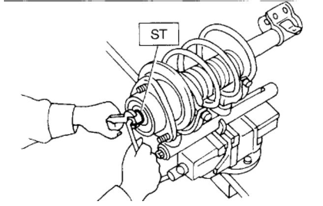 how to replace strut assembly on 2006 subaru x l l bean edition 2 5  full size image