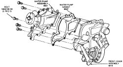 How do I install a water pump on a 1994 Mazda b3000 pickup ...