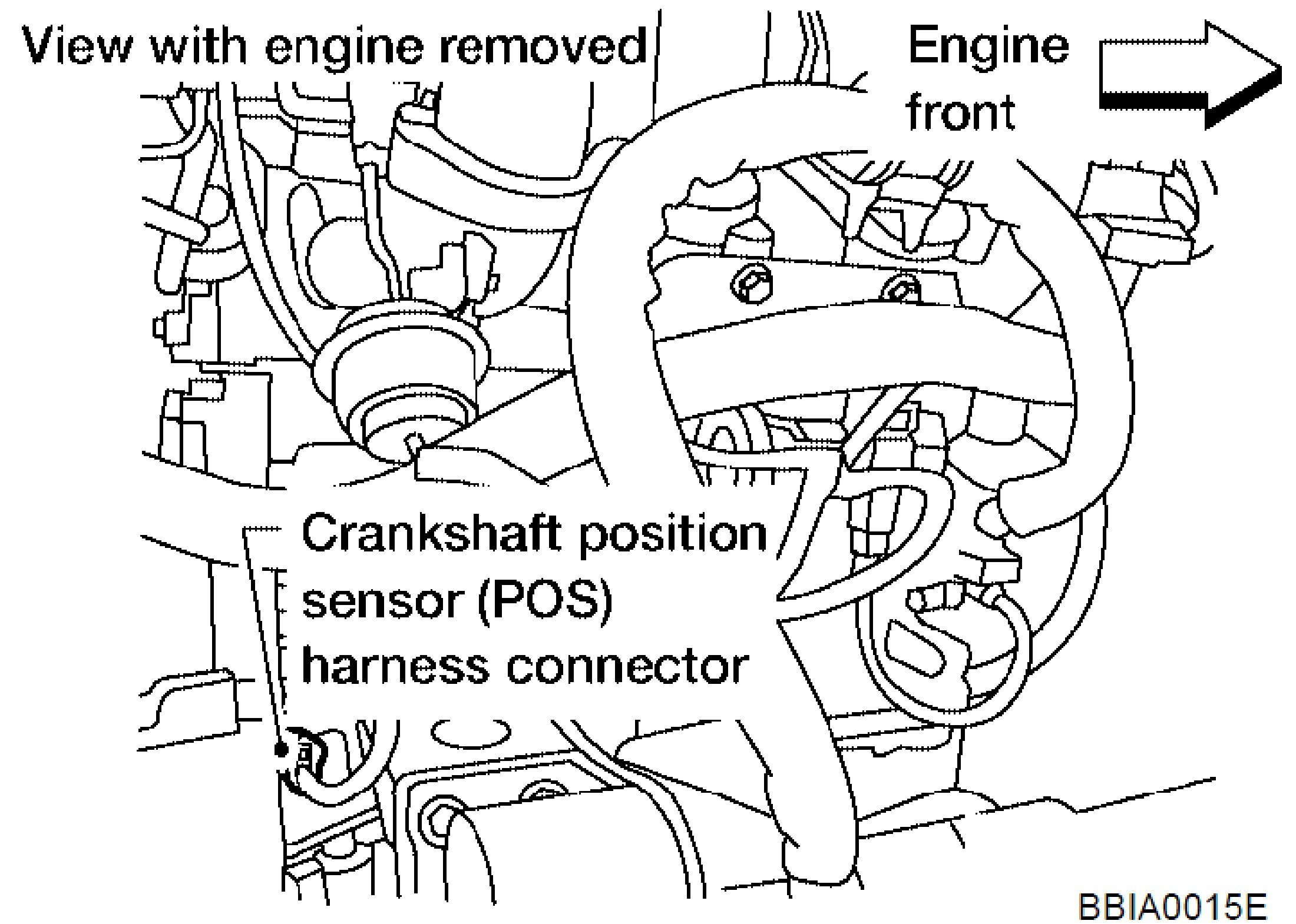 2011 07 02_185104_altima where is the crankshaft position sensor located on the 2005 nissan Altima Crank Sensor Connector at n-0.co