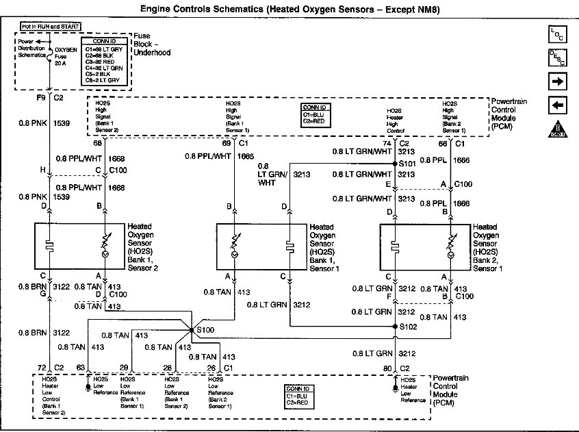 2002 Chevy S10 4 X 4 Crew Cab  4 3 V6  Got A P0155 Code  Replaced The Bank 2 Sensor 1 O2 Sensor