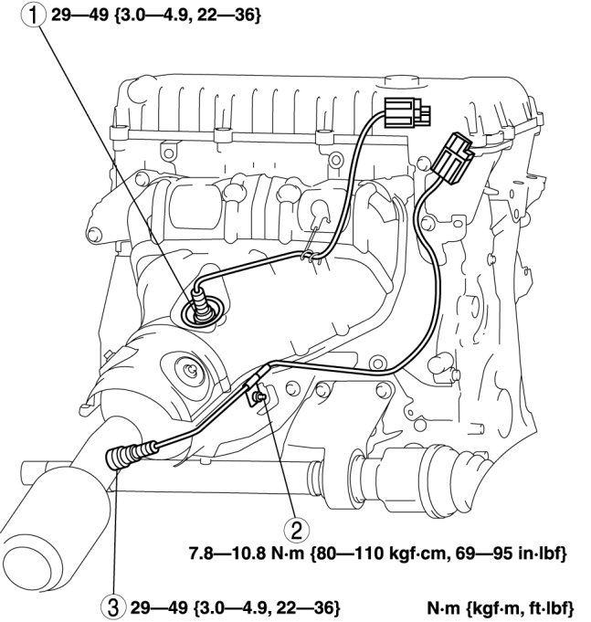 i have a 2009 mazda5 the check engine light is on the fault code 2000 Mazda MPV Engine Diagram