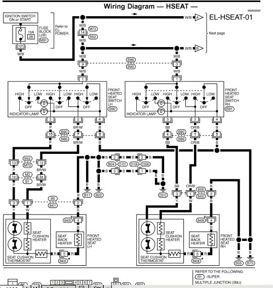 I Need A Wiring Diagram For Power Seats Out Of 2001 Qx4 Trying: 2005 Nissan Altima Headlight Wiring Diagram At Bitobe.net