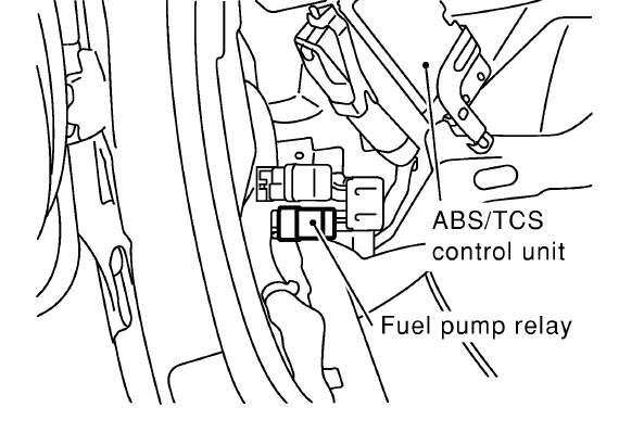 2004 nissan maxima fuel pump wiring diagram