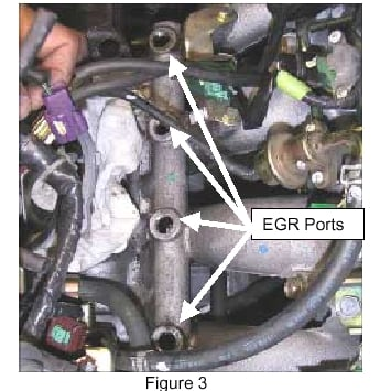 how to clean egr ports