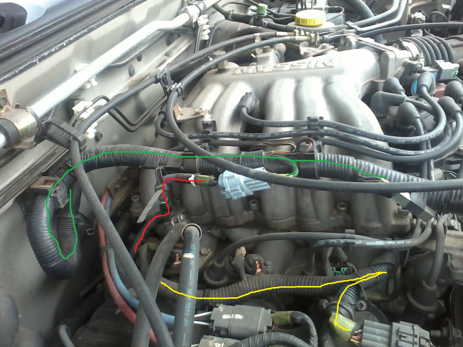 2010 07 28_211347_Photo0010 need a part of wiring harness above valve cover eight wire nissan frontier wiring harness at soozxer.org