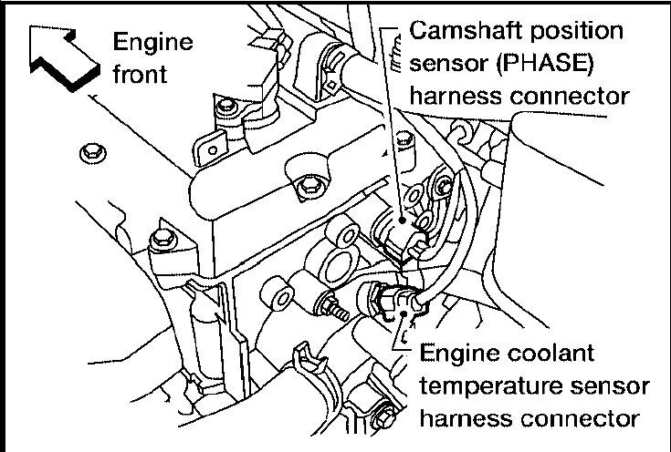 I Have A 03 Nissan Altima 25 4 Cylinders The Is That It Does Not Rhjustanswer: 1995 Altima Crankshaft Sensor Location At Elf-jo.com