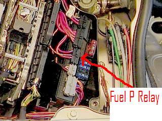 K on Mercedes Fuel Pump Relay