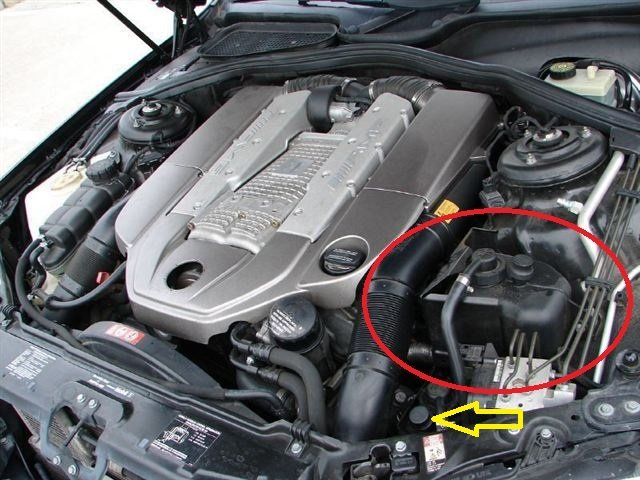 I Am Having A Problem With A 2003 S55 Amg Kompressor And