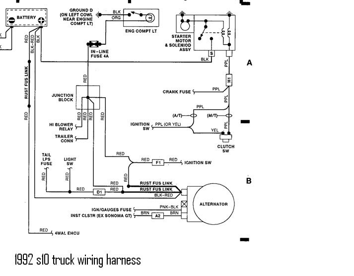s10 alternator wiring diagram diagram data schemas10 alternator wiring diagram wiring diagram chevy s10 alternator wiring diagram s10 alternator wiring diagram