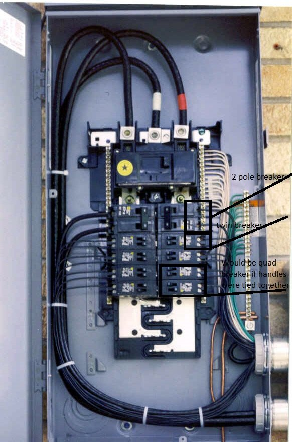 I Need To Provide A 40amp 240v Breaker For A Dual Fuel Range  The Existing 200 Amp Breaker Panel