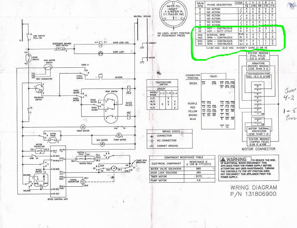 whirlpool duet steam washer not going into high speed spin ... wiring schematic for whirlpool duet washer