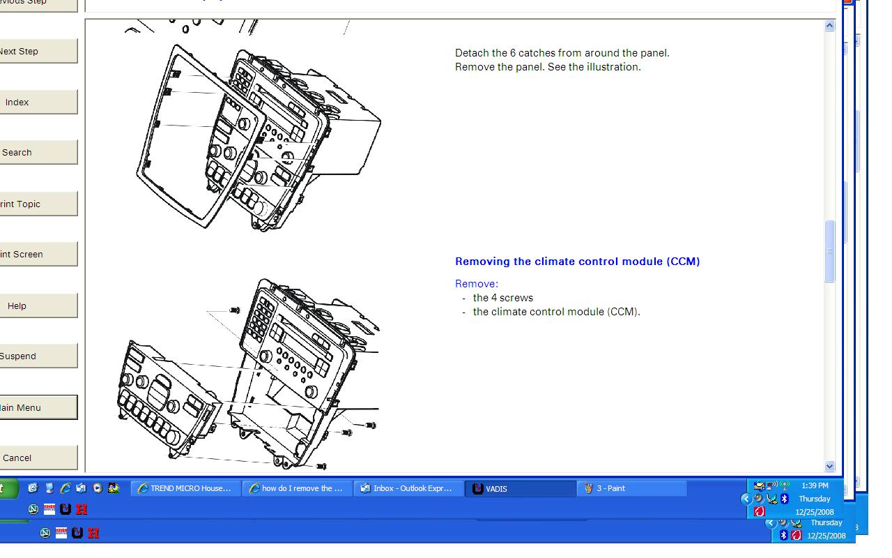 Removing Fuse Panel From Under Glove Box On Volvo S60 53 Wiring 2004 Headlight Harness Diagram 2008 12 25 214036 4 2007 S60r Hu 850 Radio Removal Illustrated At