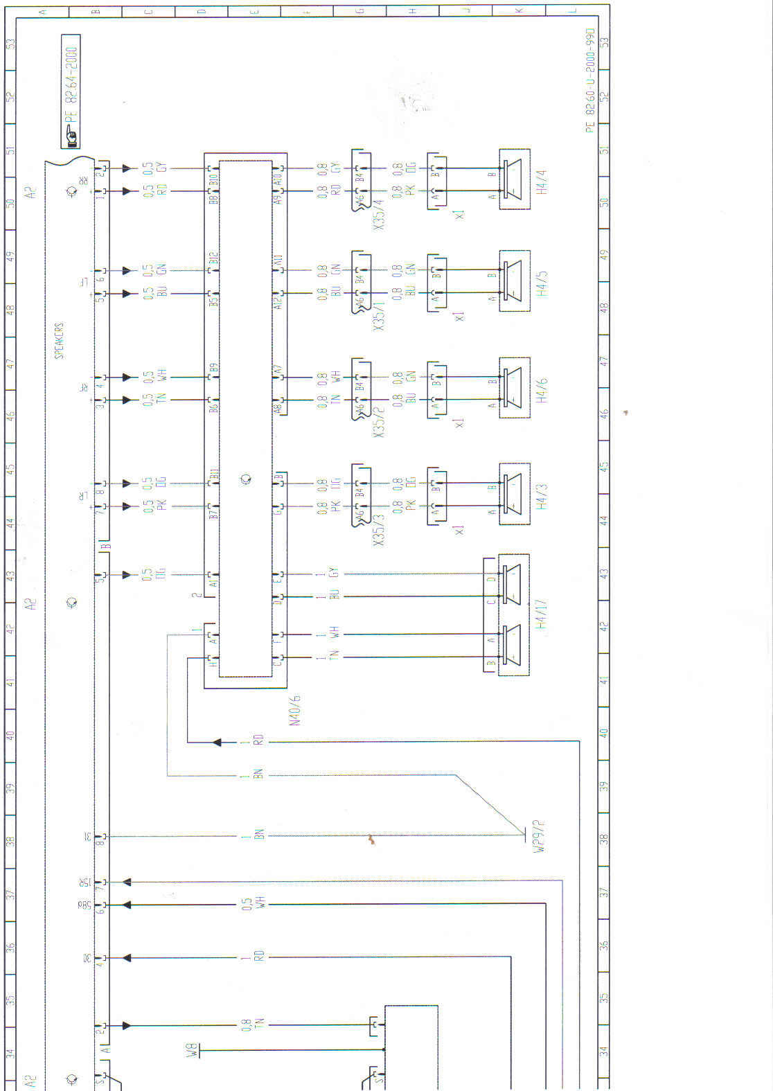 2002 Ml320 Bose Amp Wiring Diagram Wire Center Surround System 98 Pinout Of Radio Rh Justanswer Com Gm Stereo