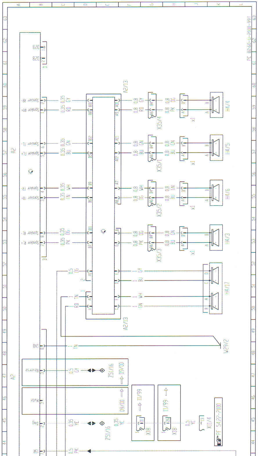 2002 Ml320 Bose Amp Wiring Diagram Wire Center Surround System 98 Pinout Of Radio Rh Justanswer Com