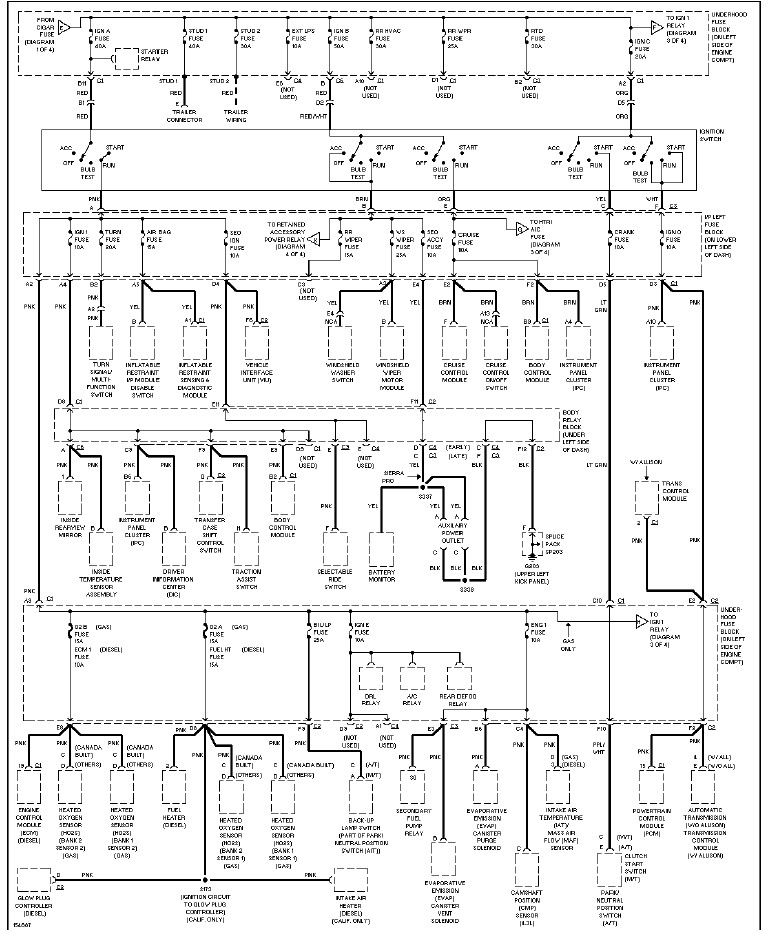 Diagram  I Need The Speaker Wire Diagram For A 2500 Hd Wiring Diagram Full Version Hd Quality
