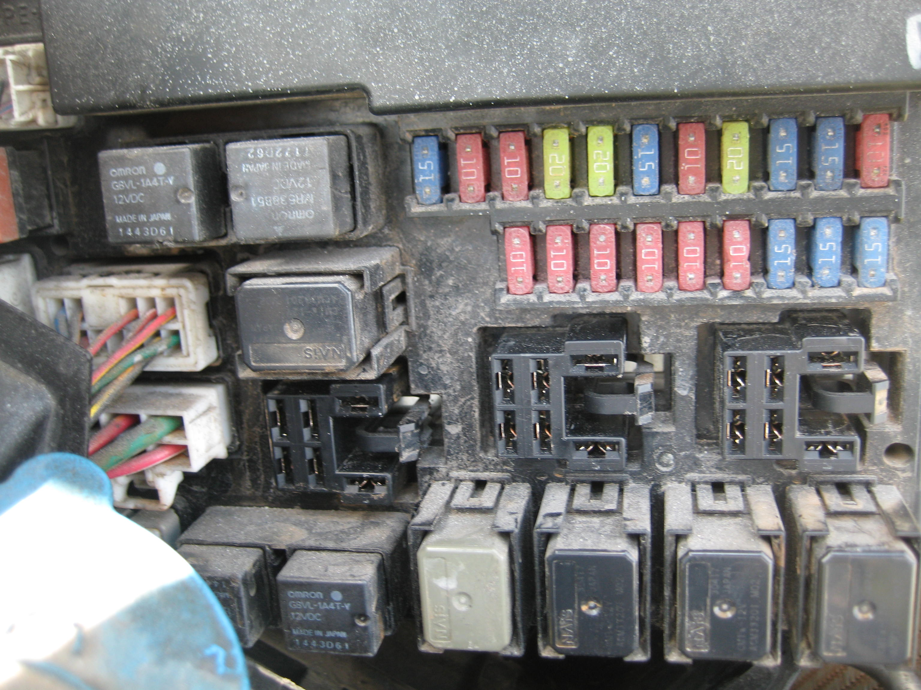 Need Fuse Box And Relay Diagram For Nissan Altima
