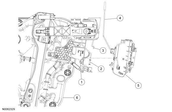 2012 ford edge wiring diagram door latch  ford f250 door latch diagram  ford f