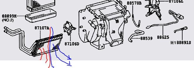 service manual  instruction for a 2012 toyota rav4 heater