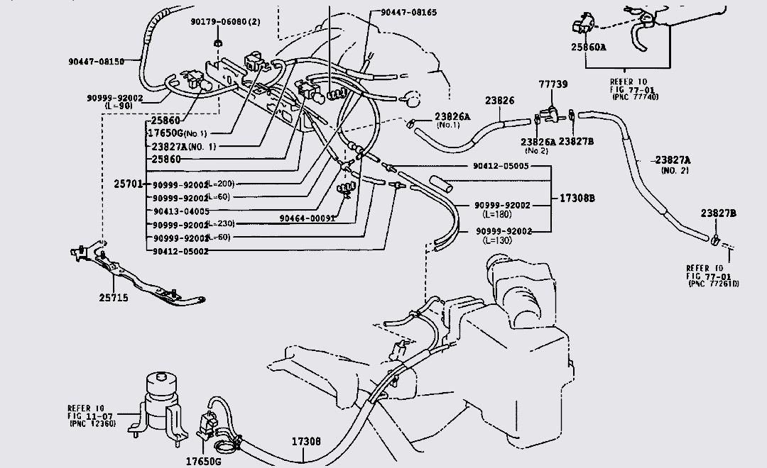 I Replaced The Factory Starter 2 Weeks Ago When It Went Out Could. Ask Your Own Lexus Question. Lexus. 1999 Lexus Es 300 Vacuum Diagrams At Scoala.co