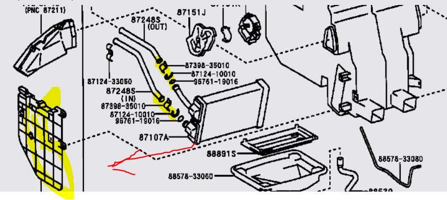 99 Camry Radiator Diagram 25 Wiring Diagram Images