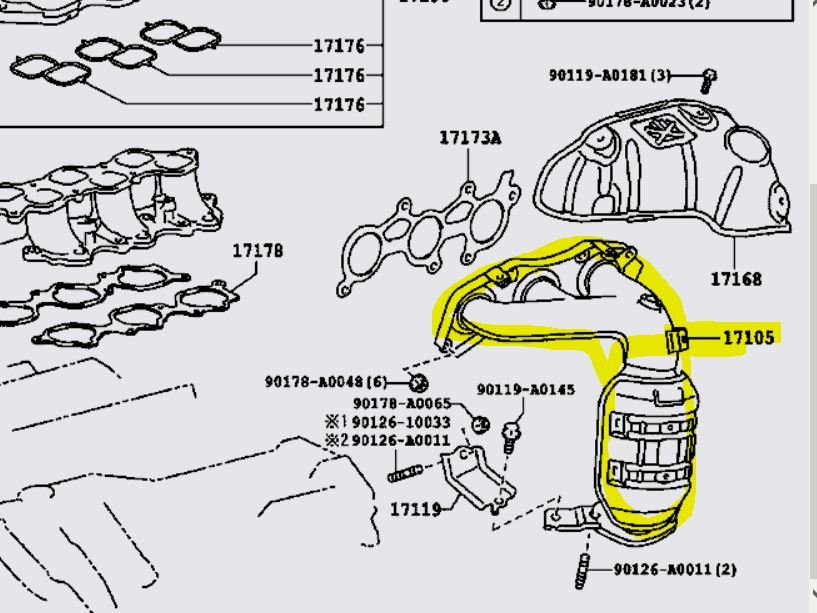 Watch also 8do0f Toyota Sienna Know Catalytic Converters besides 3gnhm 2001 Camry V6 Trouble Code P1155 Changed besides P0325 2000 toyota camry likewise Temperature Sensor Location 2004 Kia Optima. on 2001 toyota camry oxygen sensor location
