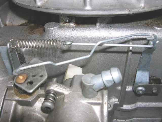 How Do I Connect The Governor Linkage On A Toro 20071