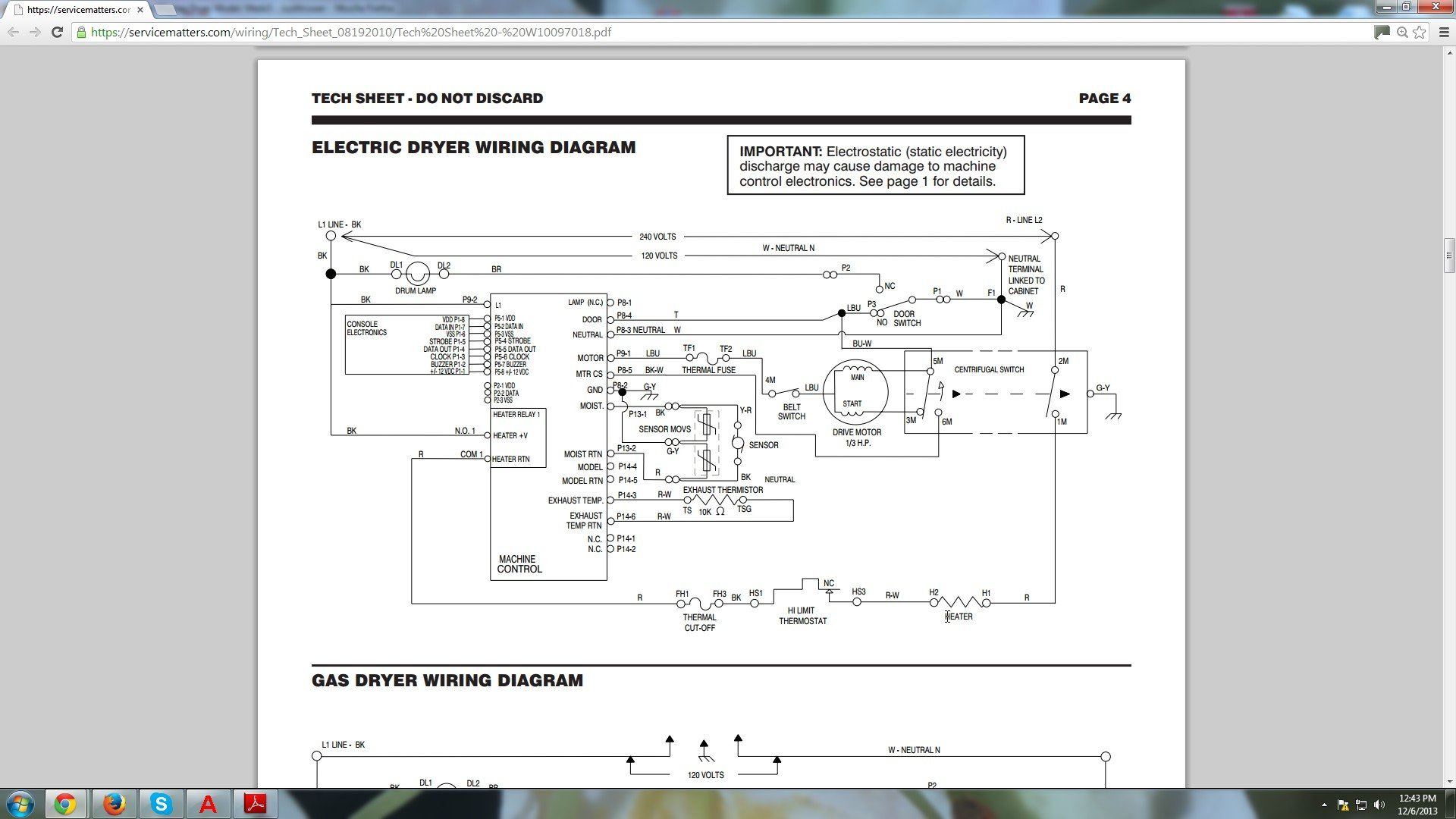 Diagram For Maytag De406 Electrical Wiring Dishwasher Looking Drawing Dryer Model Medx500xw0 Parts