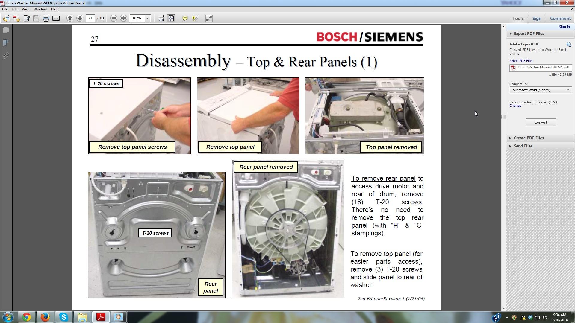 Wiring Diagram  32 Bosch Nexxt 500 Series Dryer Parts Diagram