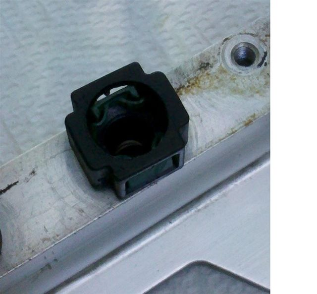 2005 Volvo V70 T5 I'm replacing the oil trap and some of the associated hoses. I've got just ...