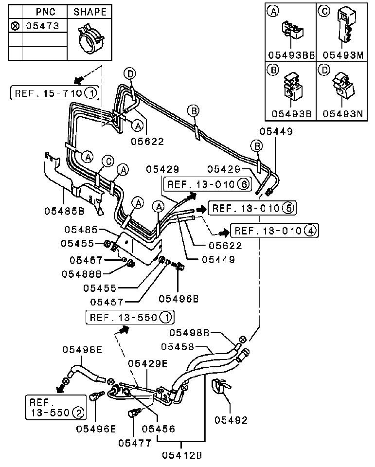 i have a 02 mitsubishi montero xls  3 5l v6 auto 4wd and i have a fuel leak in the fuel lines