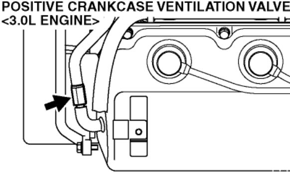on a 2005 the valve will be a 14mm sided valve that you unscrew  if it has  been a while since it was changed, you will want to grip the pipe it