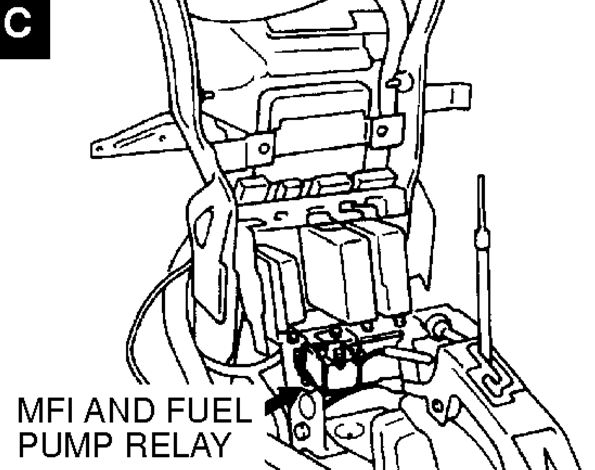 where is the fuel pump located and also the fuel delivery