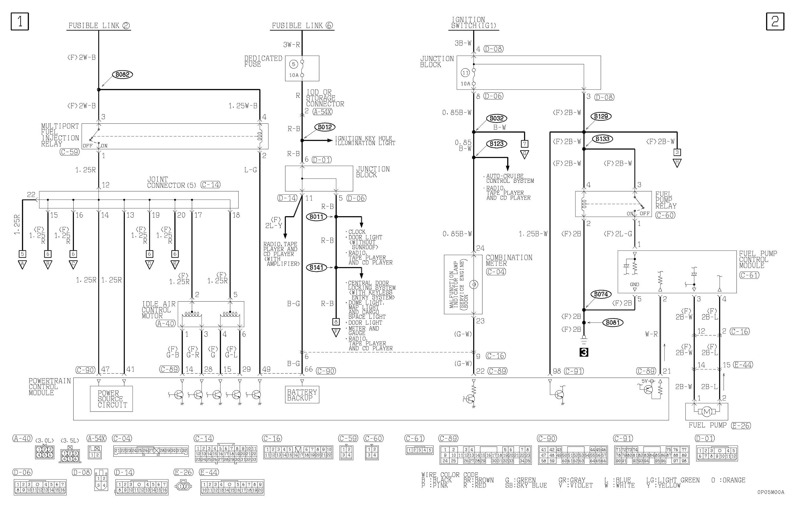 Diagram  2008 Mitsubishi Outlander Xls Wiring Diagram