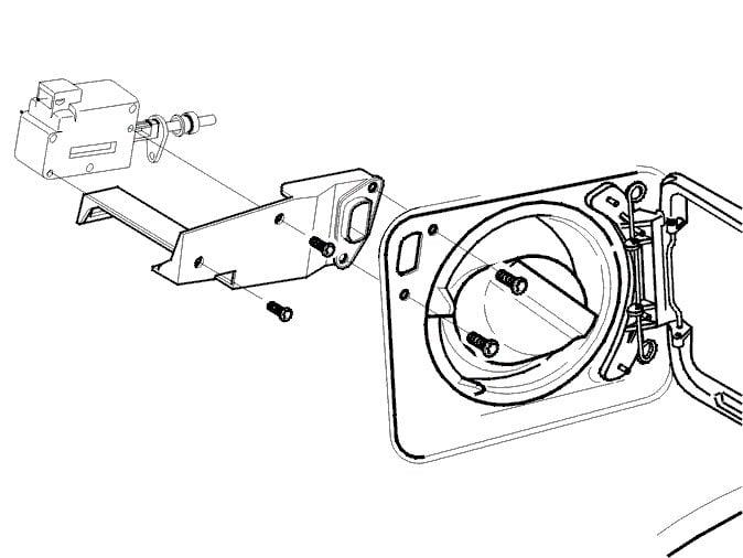 How Do I Get The Fuel Door To Unlock In My Daughters 02 Volvo S80