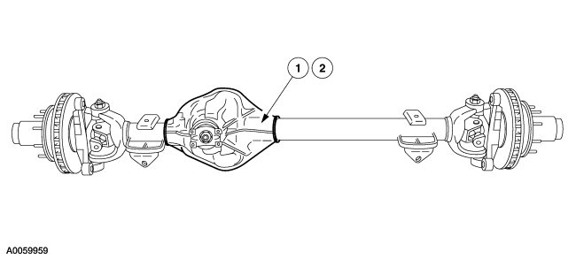 Ford Taurus Front Axle Diagram - Wiring Schematics