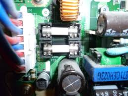 lg tv fuse. you would need to pull out each fuse and have a tester make sure their ok. lg tv