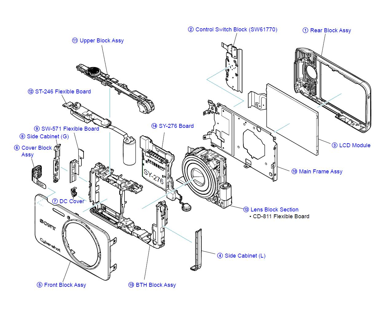 sony cyber shot 16.2 manual