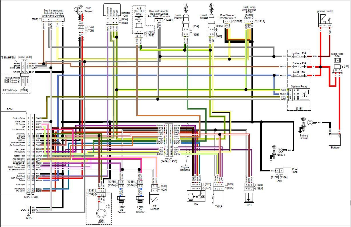 1997 Harley Sportster Wiring Diagram - 4.10.janmeijvogel.nl • on sportster chopper wiring diagram, 1994 evo diagram, sportster voltage regulator wiring diagram, sportster generator wiring diagram, harley turn signal wiring diagram, sportster tail light assembly, sportster tail light cover, harley wiring harness diagram,