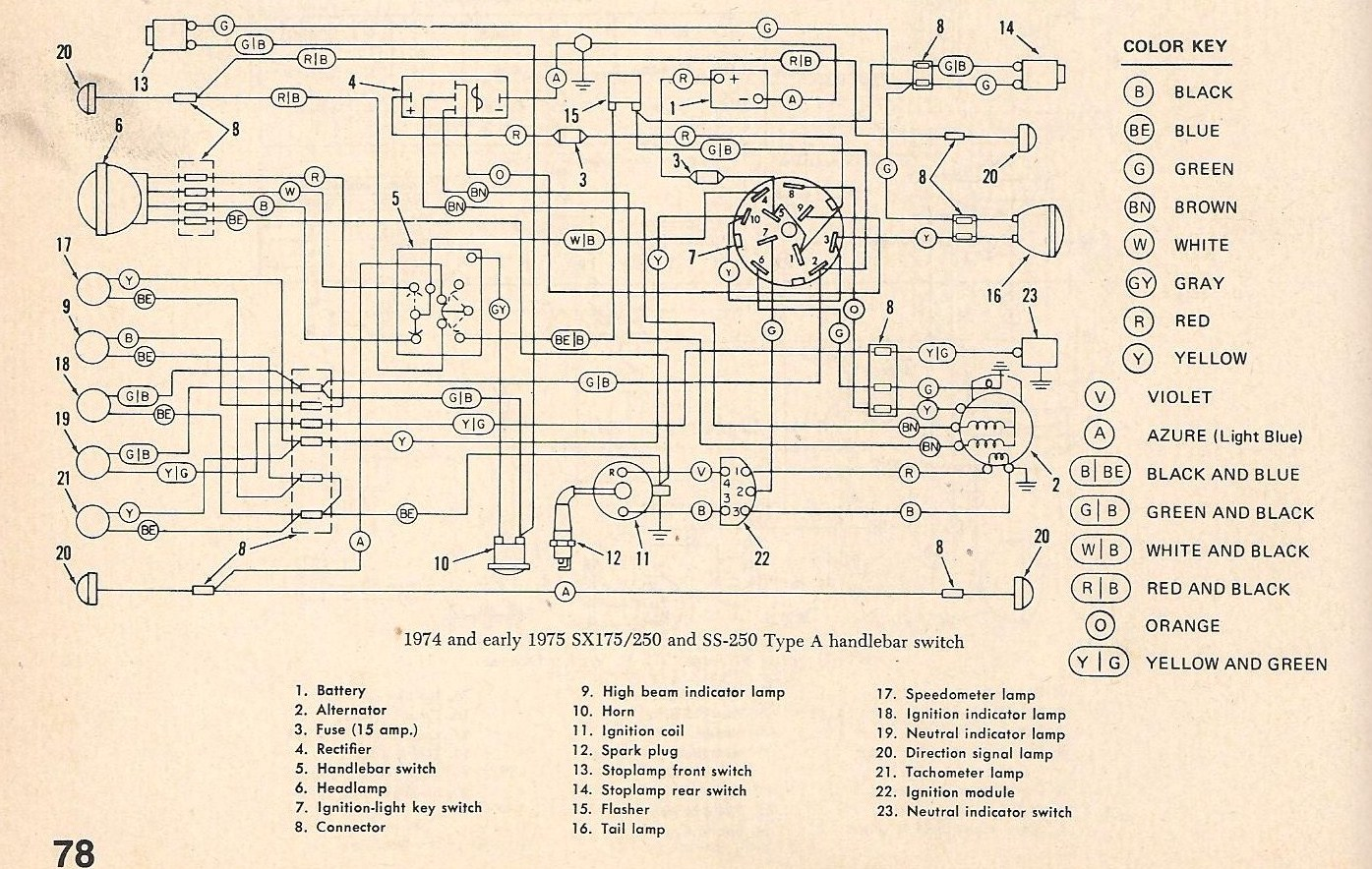 2011 06 10_005822_sx_250_type_a_001 for a 1975 250 endoro amf harley davidson wireing diagram from 2011 isuzu dyna wiring diagram at gsmx.co