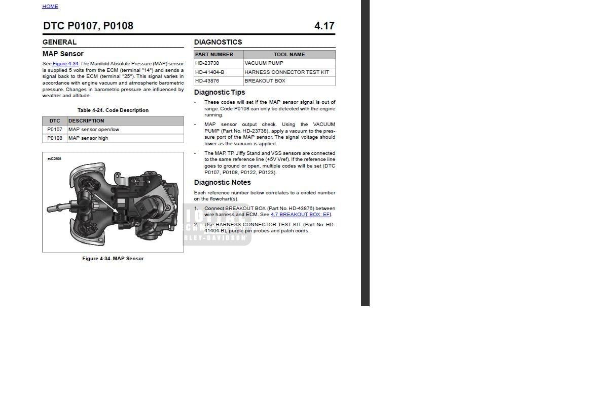 I have a 2009 Harley Davidson Fat Bob  The engine light comes on